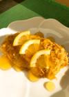 介護食 白身魚のフライの甘酢あんかけ