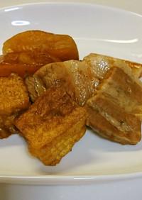 豚バラと大根・厚揚げの煮物