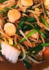 貝柱の野菜炒め