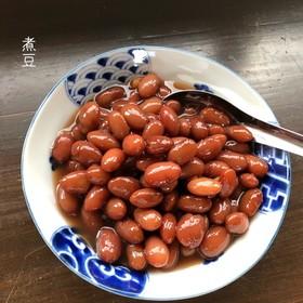 圧力鍋でかんたん金時豆の煮豆