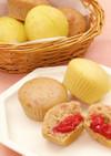 いちごの糀甘酒蒸しパン