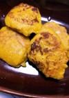 バナナと豆腐とカボチャのお焼き~離乳食~