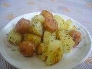お弁当に♡ウインナーポテト♡の写真