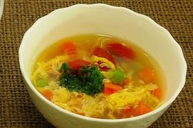 ベジ玉スープ