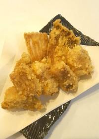 かすべの唐揚げ❤コリコリ美味エイヒレ軟骨