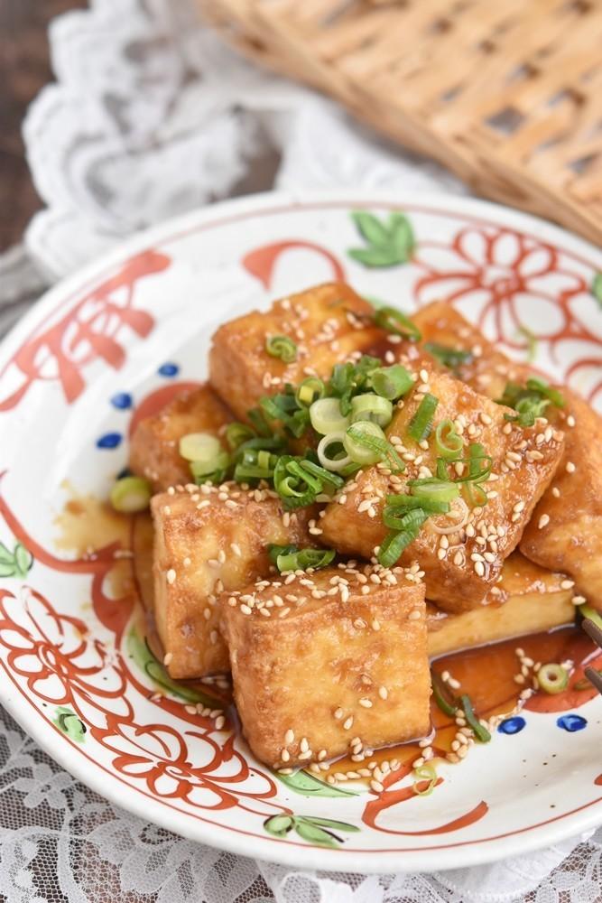 厚揚げ豆腐の甘辛照り焼き【作り置き】