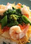 【腸活】春野菜のちらし寿司