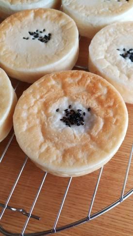 いちご餡とクリームチーズのパン