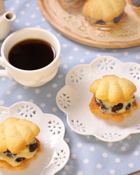 HMで簡単♡レーズンチョコサンドクッキー