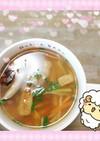 マクロビ☆わらびの重ね煮春スープ