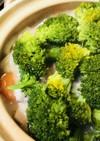 鶏肉とくたくたブロッコリーの寄せ鍋