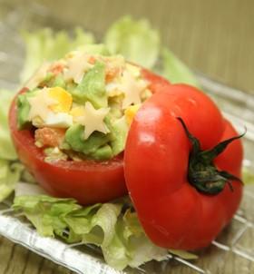 トマトのサラダカップ ツナマヨ風味