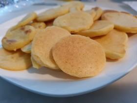 りんごと人参と豆乳の米粉パンケーキ