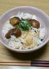 旨い(๑´ლ`)甘栗と鶏肉の炊き込みご飯