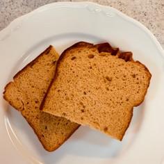 しっとりふすまパン 1枚で糖質5.3g