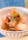 豚肩ロースと大根の煮物