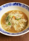 超簡単 冷やご飯と残り汁でレンチン雑炊