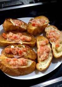 ブルスケッタトマト