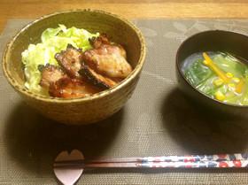 春きゃべつと香る豚丼 DON!