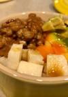 ミニココットでアボトロ納豆サラダ丼