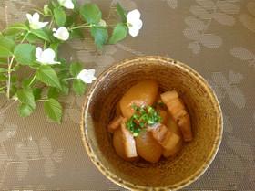 豚バラ肉と大根の味噌煮