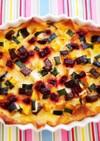 簡単★カラフル野菜のモザイクパンキッシュ