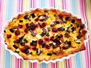 簡単★カラフル野菜のモザイクパンキッシュの写真