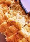りんごとラムレーズンのヨーグルトケーキ