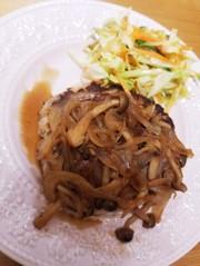 ふわふわ豆腐ハンバーグの写真