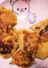 さつま芋と豆腐とバナナのお焼き~離乳食~