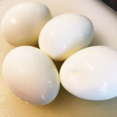 つるんっ!簡単綺麗に剥けるゆで卵の作り方
