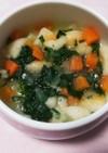 【離乳食中期~】お麩と野菜のだし煮