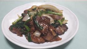 鉄分補給 鶏レバーの生姜野菜炒め
