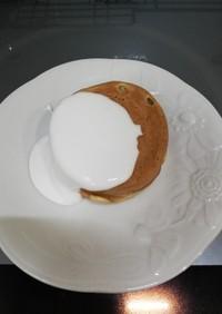 蜂楽饅頭マリームホイップのせ★
