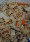 新タケノコの中華風炊き込みご飯