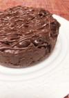 は◯寿司風アメリカンチョコケーキ