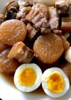 インスタントポットで♪豚バラ大根と煮卵