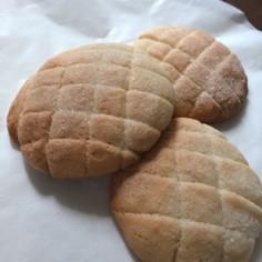 メロンパンの皮クッキー