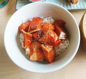 韓国風コチュジャン漬け丼