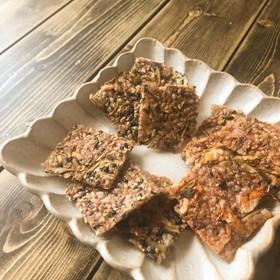 発芽酵素玄米とごぼうのパリパリ煎餅