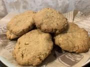 おからのピーナッツバタークッキーの写真