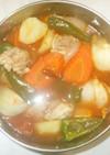 鶏もも肉のトマトスープ♪簡単