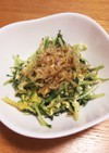 大量消費☆水菜と卵炒め✨白ご飯に合うよ☆