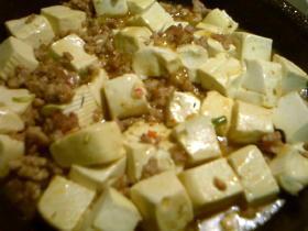 ささっと麻婆豆腐