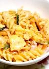 マヨたまキムチのマカロニサラダ