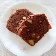 ココア&ドライフルーツパウンドケーキ
