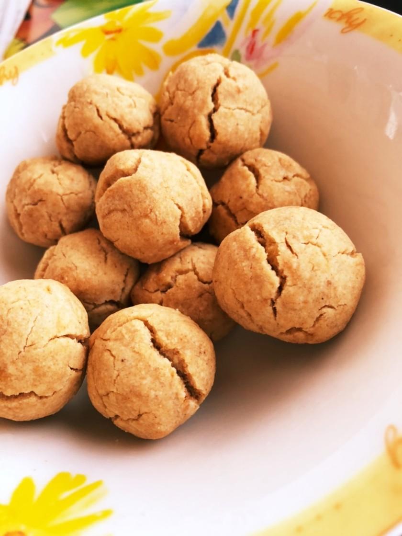 簡単☆きな粉ボールクッキー