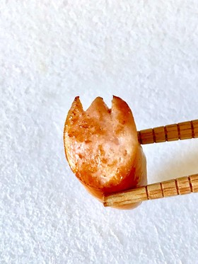 簡単ウインナーの飾り切り  チューリップ