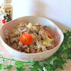 10分で完成*うま塩野菜炒め