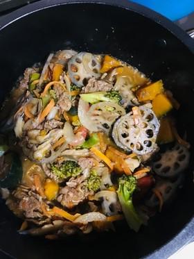 野菜たっぷり炒めもの